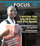 September Issue of UN Focus Magazine