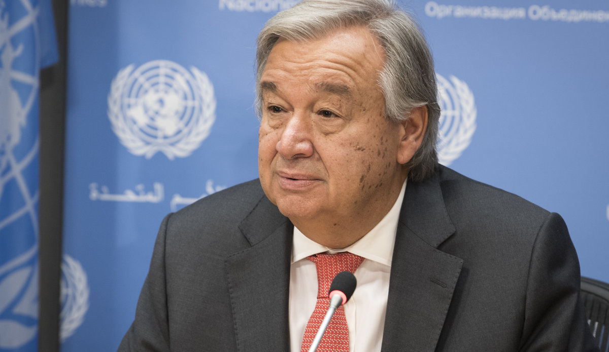 Press Conference by Secretary-General António Guterres at United Nations  Headquarters | UNMIL