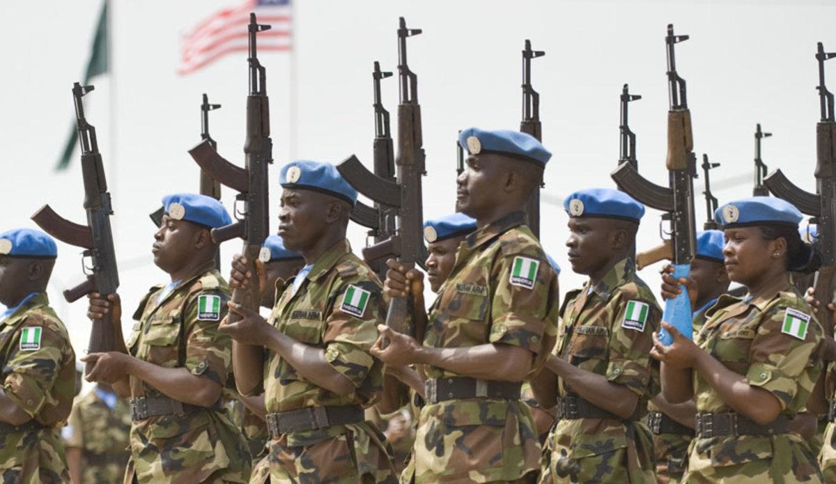 UN Peacekeepers