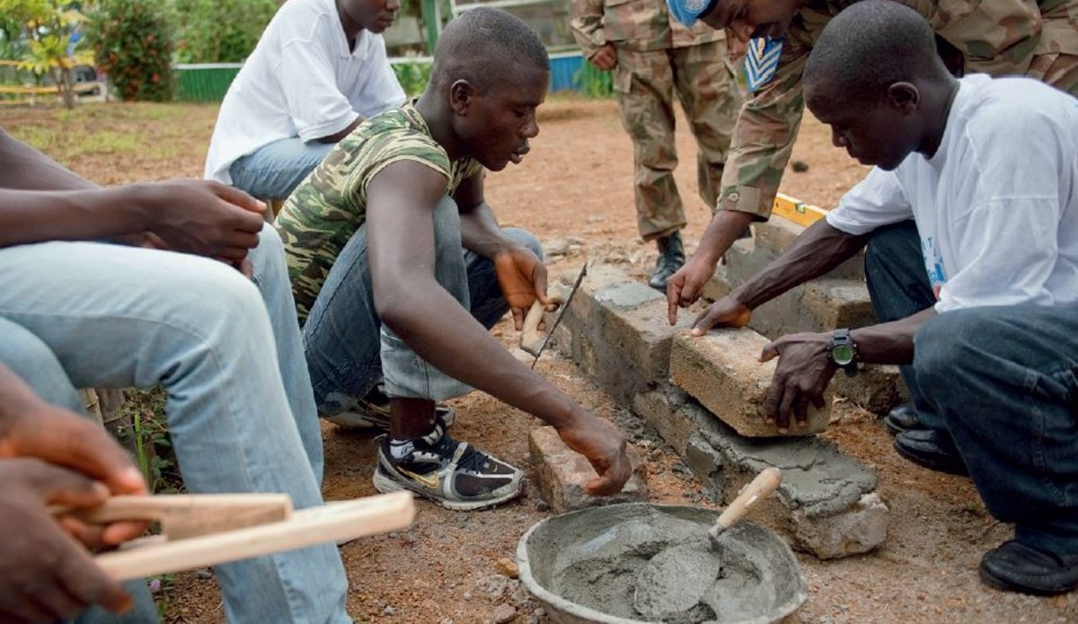 The story of UNMIL [Book]:Capacity-building helps community
