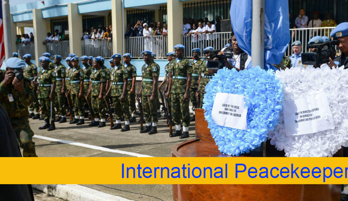 The Celebration of United Nations Peacekeepers Day in ...