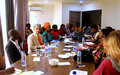 Women, peace and security: Workshop on gender - responsive conflict analysis