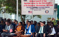 UNMIL supports the establishment of the National Center for the Coordination of the Response Mechanism (NCCRM) in Liberia