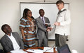 UNMIL strengthens the operations of the Public Defenders and County Attorney's Central Office through a Quick Impact Project