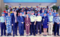 Ten UNMIL Police Officers Awarded with UN Medal