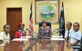 UNMIL Acting SRSG Mr. Moustapha Soumaré Says Children's Voices Should be Heard