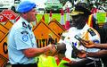 LNP Traffic  Department Receive New Equipment