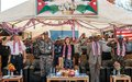 Jordanian Peacekeepers commended for their contribution to UNMIL and Liberia's peace