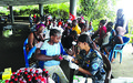 Nepal FPU offer Medical Outreach