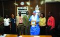 Liberia National Police Honours UNPOL Officer