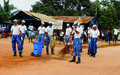 Zwedru Streets Get Facelift as Indian FPU Marks Peacekeepers Day