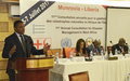 UNMIL Deputy SRSG calls for disaster prevention in the West African region