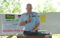 UNMIL Police Commissioner underscores complexity of drug trafficking in Liberia