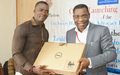 UNMIL hands over equipment to Civil Society Human Rights Advocacy Platform