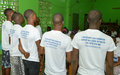Awareness campaign on Sexual and Gender-based Violence at the Monrovia Central Prison supported by UNMIL