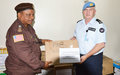 Liberia's border security and operationalization boosted by UNMIL Quick Impact Project