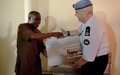 UNMIL donates IT equipment to Liberia Drug Enforcement Agency