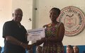 UNMIL supports an Advanced Course on Women, Peace and Security at the University of Liberia