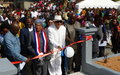 Liberian Government dedicates Du-port road community memorial site