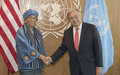 Letter by President Ellen Johnson Sirleaf of Liberia, addressed to the United Nations Secretary-General