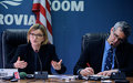 Press briefing by SRSG Karin Landgren on the UN Security Council's recent  discussion on Liberia