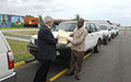 UNMIL donating 30 vehicles for Government's use in fight against Ebola