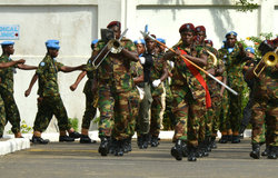 International Day Of United Nations Peacekeepers at UNMIL  - 29 May 2017  ©UNMIL Photo: Shpend Berbatovci